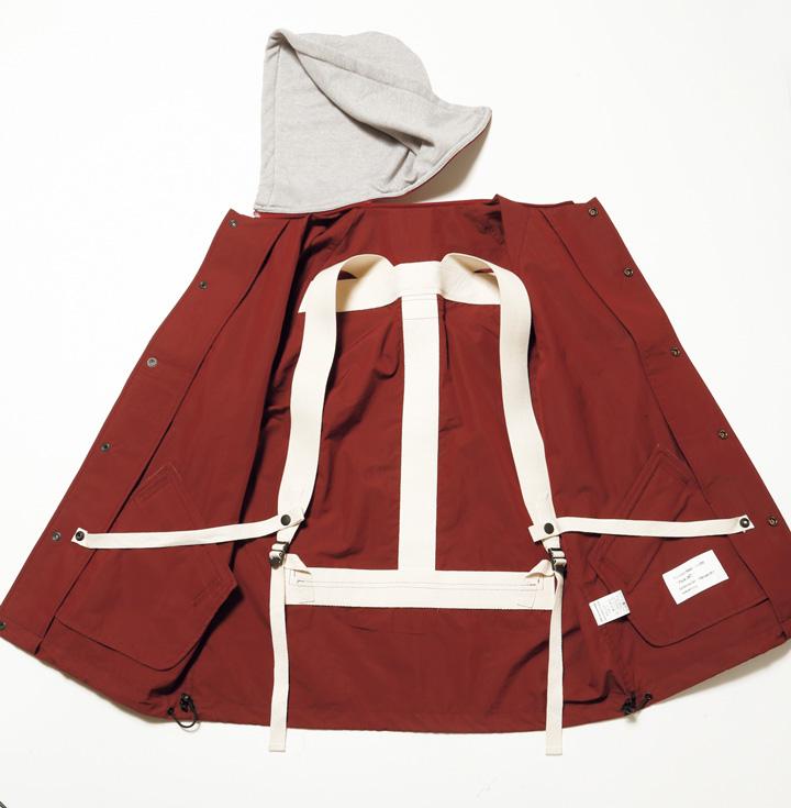 マウンテンリサーチのパックジャケット