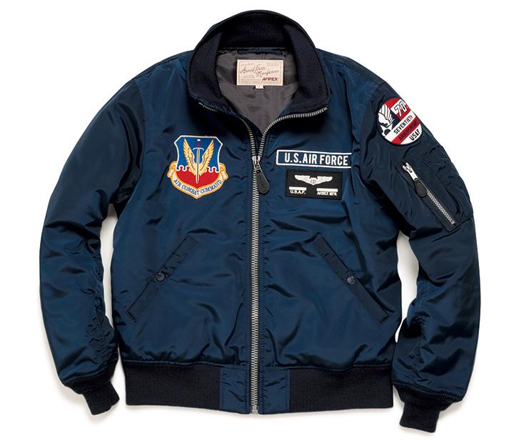 アヴィレックスのMA-1ジャケット
