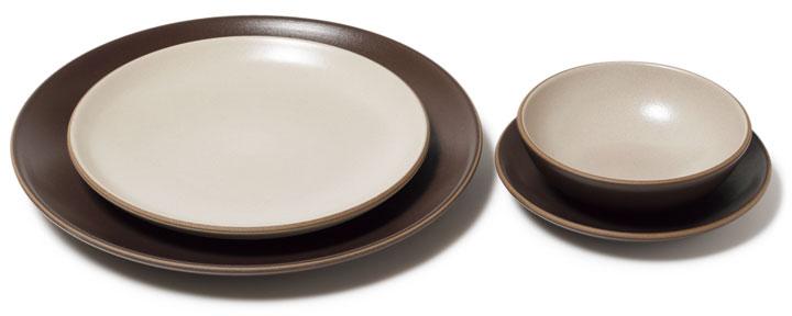 ヒースセラミックスの皿