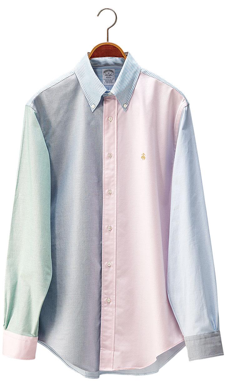 ブルックス ブラザーズのファンシャツ カスタマイズ