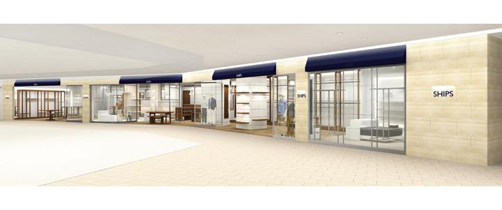 シップス 新静岡セノバ店