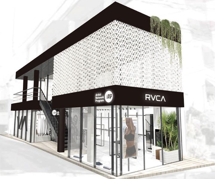 ルーカ(RVCA)店舗外観