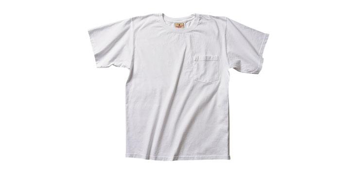 グッドウェア(Goodwear)のクラシックネック ポケットTシャツ(7.2oz)