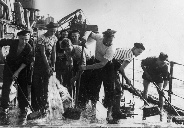 1940年代のフランス水兵