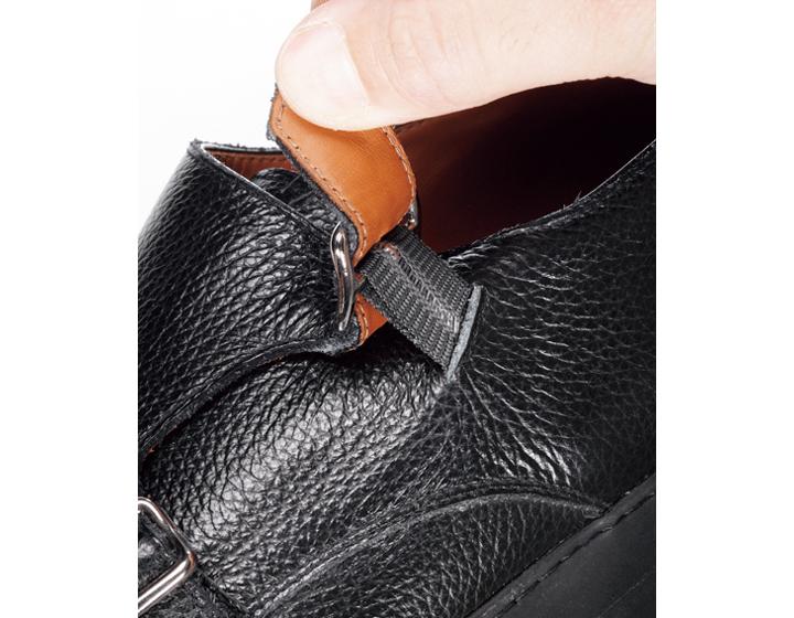 ユナイテッドアローズのドレススニーカー履き口