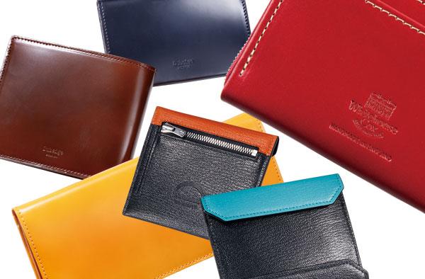 日本の職人技が可能にした優美な薄造りブライドル「キャベンディッシュの3つ折り財布」
