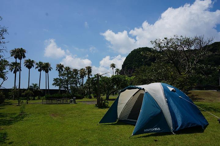 鹿児島県:休暇村指宿キャンプ場