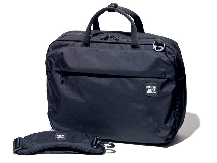 ハーシェルサプライの3wayバッグ