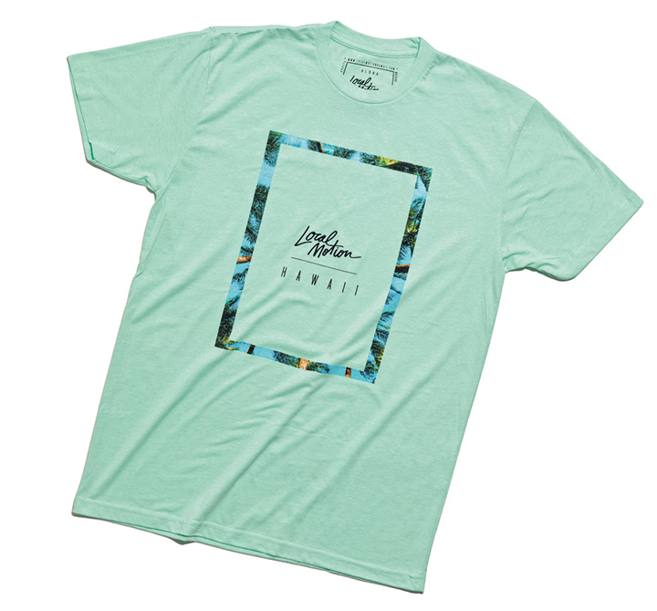 ローカルモーションのTシャツ