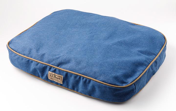 エル・エル・ビーンのプレミアム・デニム・ドッグ・ベッド