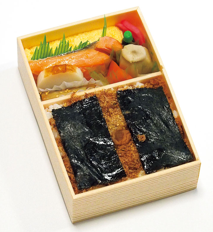 手抜きのない日本一の海苔弁