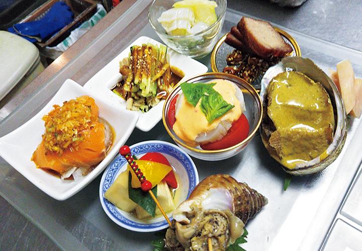 泰山北斗の前菜