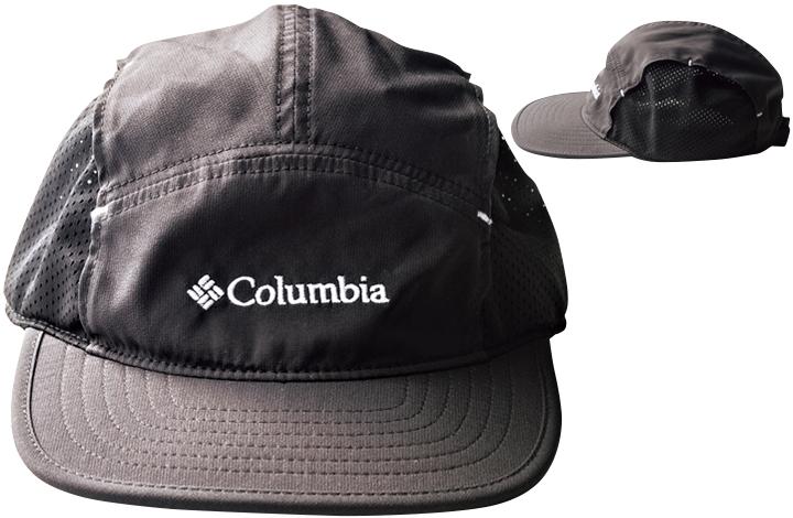 コロンビアの黒ジェットキャップ