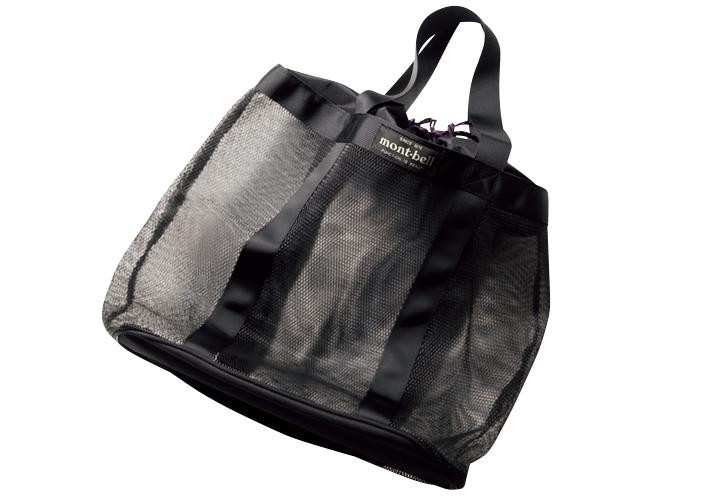 モンベルのメッシュバッグ画像
