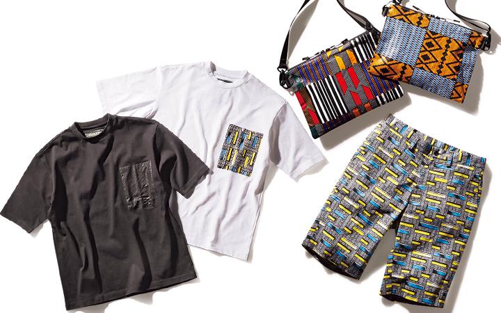 アフリカン柄商品画像集合