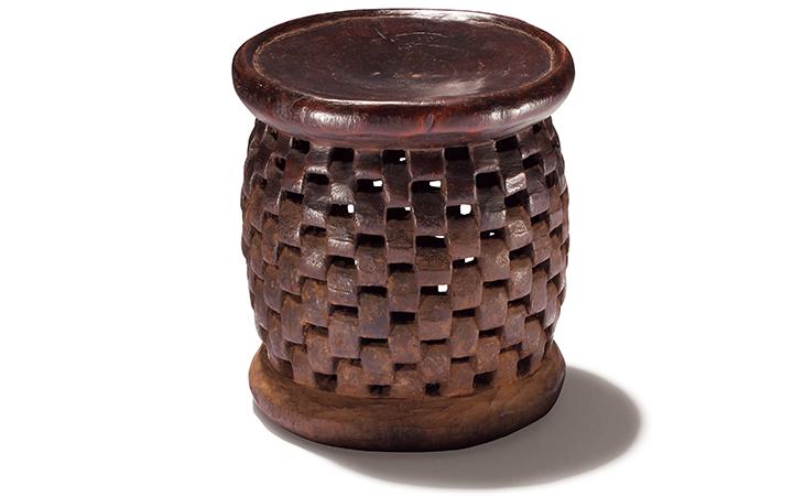 バミレケ族のウッドスツール画像