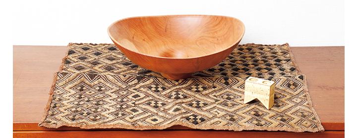 クバ族の草ビロード画像