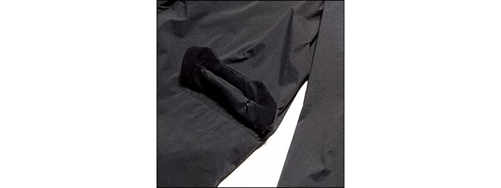 アルクフェニックスのザック ジャケット&クランク スリム パンツJKのフラップ裏拡大画像