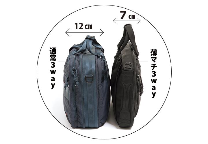 鞄だって薄いほうが絶対、気持ちイイのよ♡