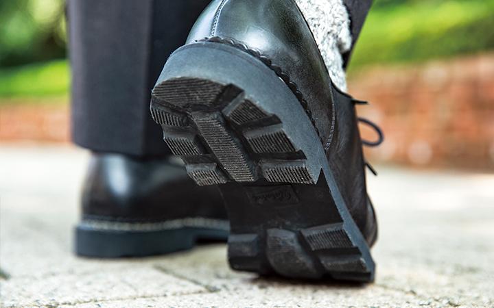 パラブーツの靴裏画像