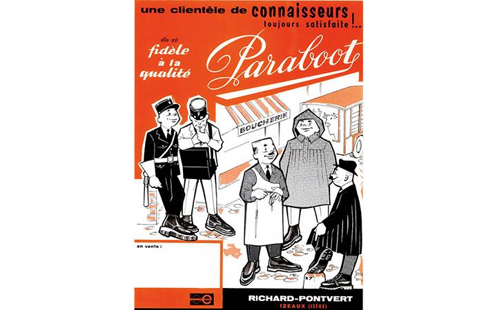 パラブーツ'60~'70年代の広告画像