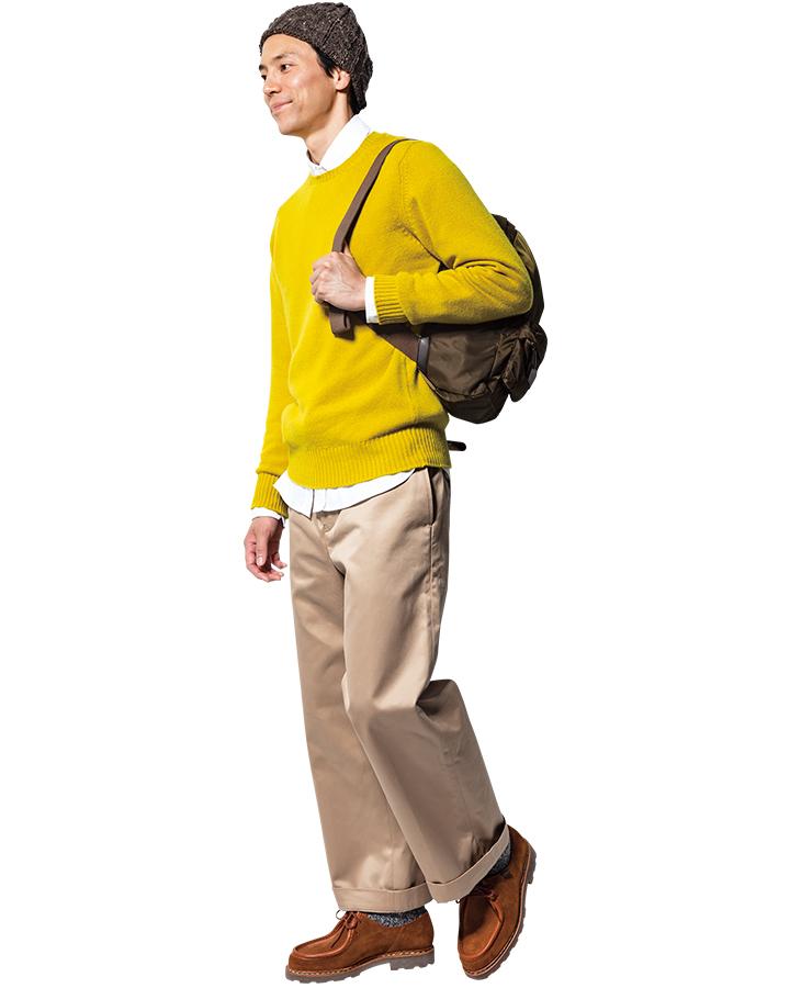パラブーツミカエルのモデル着用画像