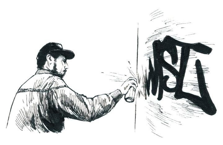ストリートアートを牽引する鬼才バリー・マッギー