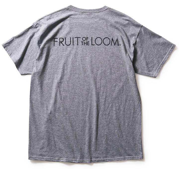 フルーツ・オブ・ザ・ルームのロゴTシャツ