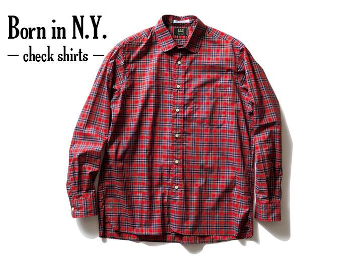 フリークス アメリカのチェックシャツ
