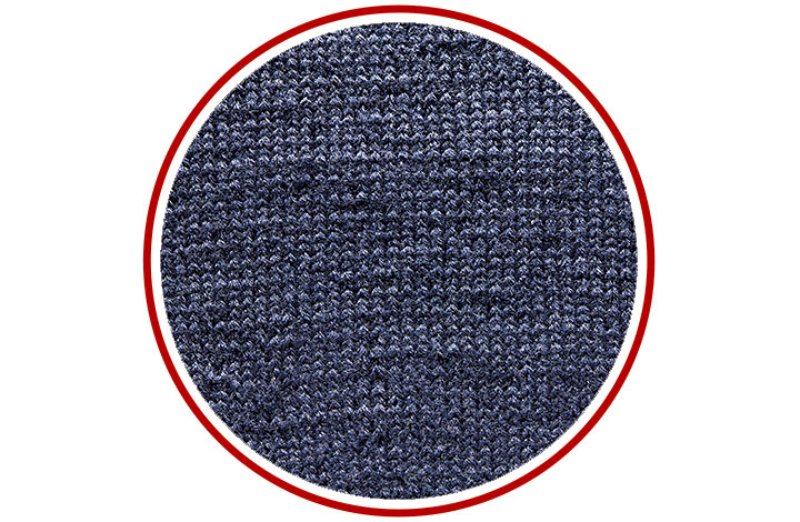 手編みによる不均一さも120パーセント再現!