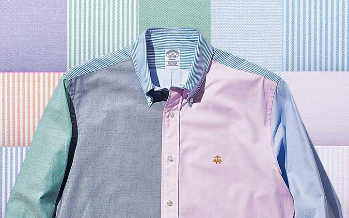 ブルックス ブラザーズ ファンシャツ カスタマイズのイメージ