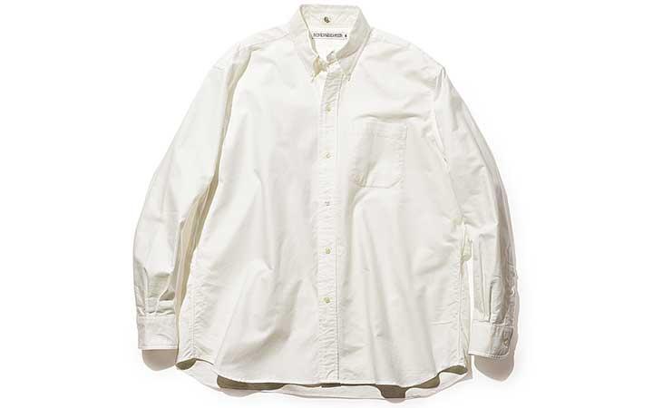 インディビジュアライズド シャツ×キャプテン サンシャイン クラシックフィット&6ボタンBDシャツ画像