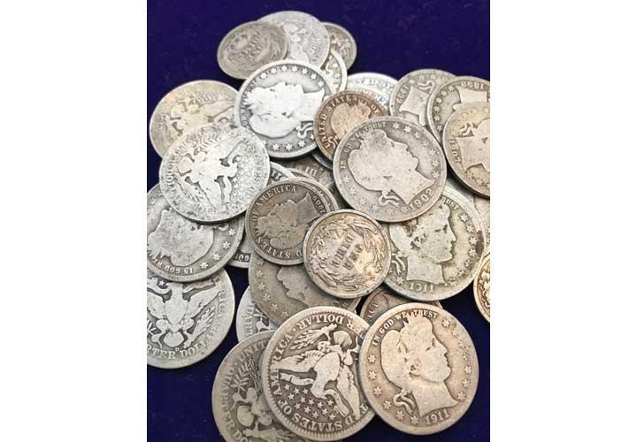 1900年前後のヴィンテージコイン画像