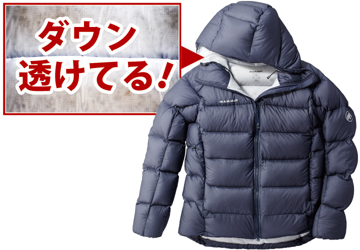 マムートのメロン イン フーデッド ジャケット