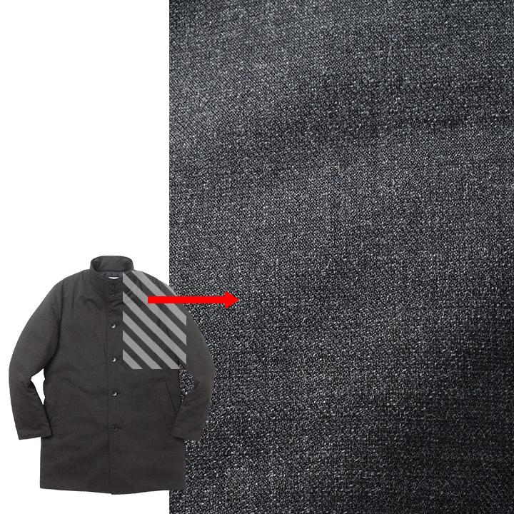 スーツにも違和感なく合わせられる機能性素材