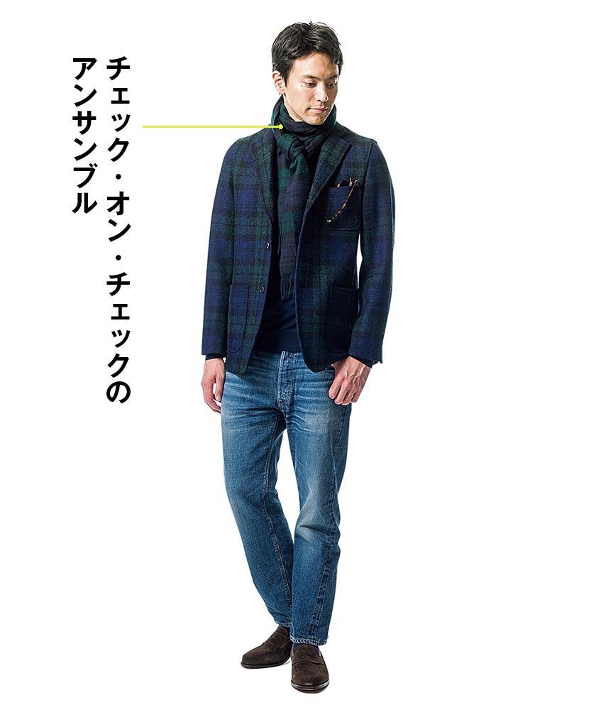 ビームス プラスのジャケット×ウエアハウスのセコハン1100
