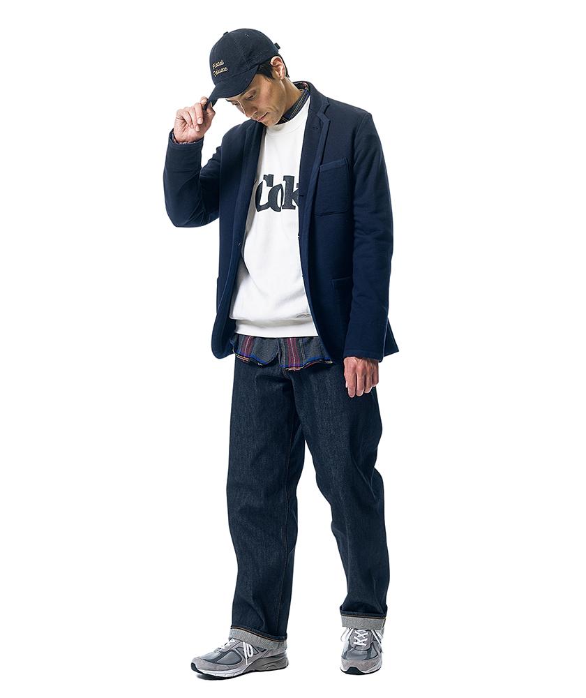 ローイング ブレザーズのジャケット×オアスロウの101ダッドジーンズ