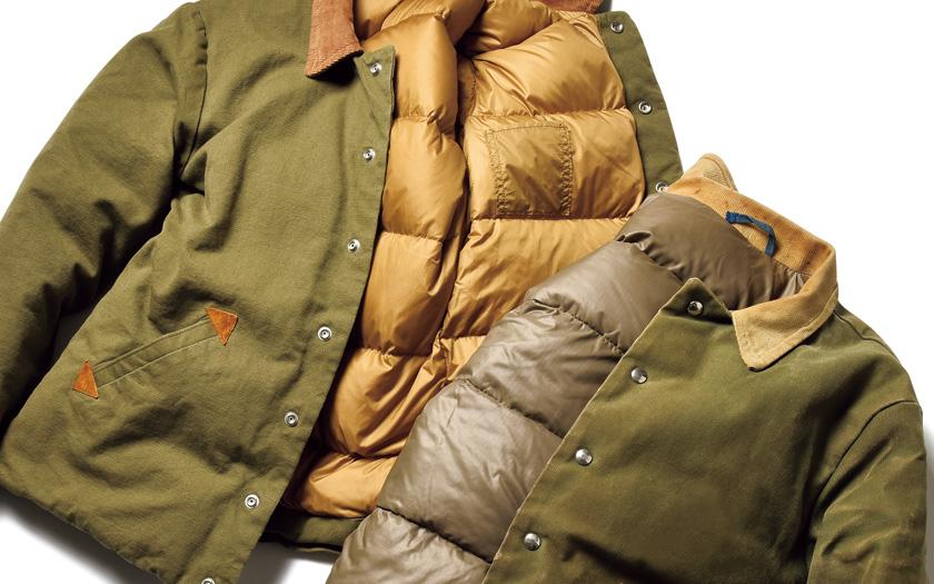 半世紀前のダウンは着れば着るほどカッコよくなるのだ!