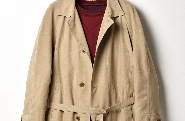 これぞ得するコートスタイルのお手本! ポイントは色みと素材です