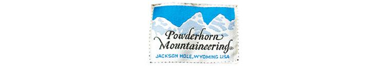 パウダーホーン マウンテニアリングのロゴ