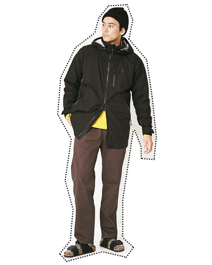ビルケンシュトックのメタルビルケンモデル着用画像