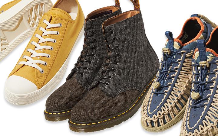 カジュアル靴集合イメージ