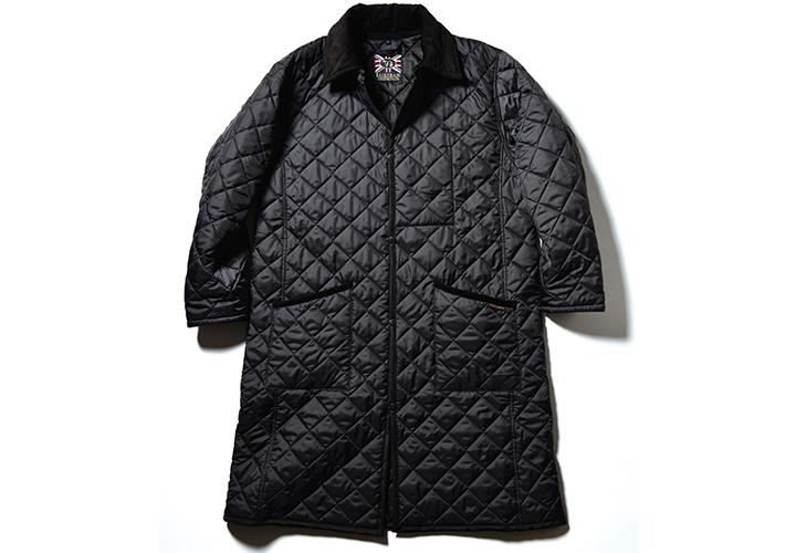 ラベンハムのキルティングコートユナイテッドアローズ別注モデル画像