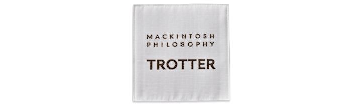 マッキントッシュ フィロソフィー トロッターシリーズのロゴ画像