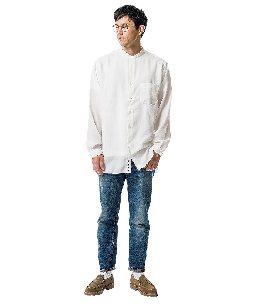ナナミカのシャツ×ウエアハウスのセコハン1100<