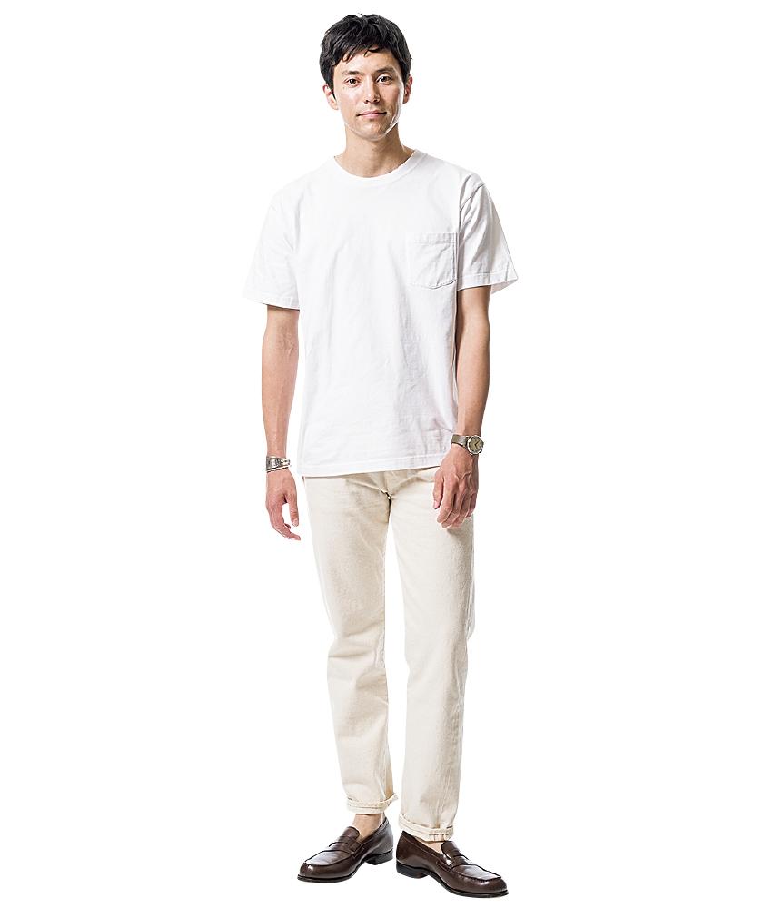 ヘインズのTシャツ×ボンクラの66タイプ