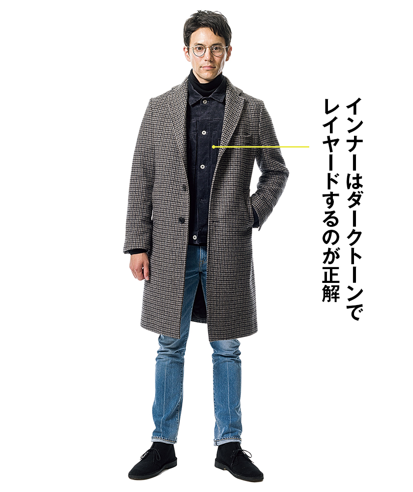 パルトのコート×クロのディアマンテ