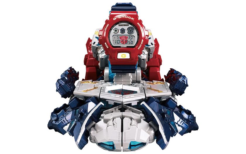 カシオのGショック トランスフォーマーコラボレーションモデル
