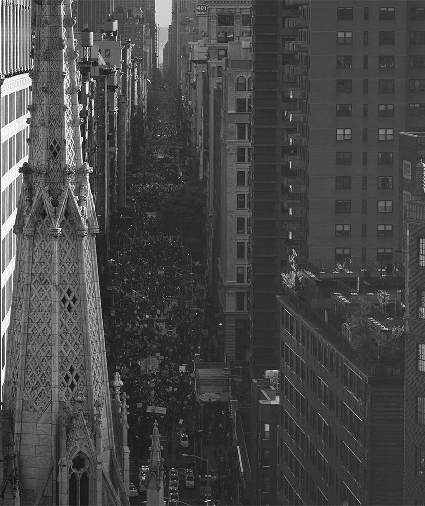 マンハッタン街中