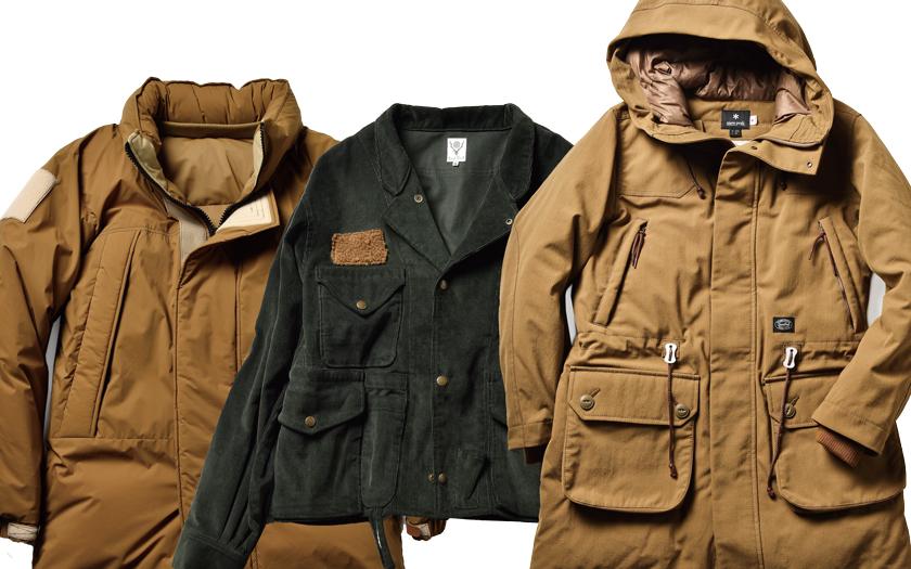 ナンガ/サウス2 ウエスト8/スノーピークのジャケット 全画像